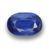 thumb image of 1.3ct Oval Facet Blue Kyanite (ID: 459314)