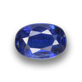 thumb image of 0.8ct Oval Facet Deep Blue Kyanite (ID: 459333)