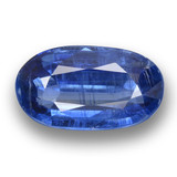 thumb image of 4.3ct Oval Facet Blue Kyanite (ID: 462094)
