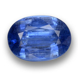 thumb image of 4ct Oval Facet Blue Kyanite (ID: 462095)