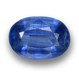 thumb image of 4.6ct Oval Facet Blue Kyanite (ID: 462096)