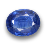 thumb image of 5ct Oval Facet Blue Kyanite (ID: 462097)