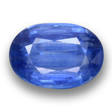 thumb image of 5.3ct Oval Facet Blue Kyanite (ID: 462098)
