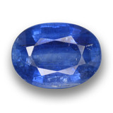 thumb image of 8.4ct Oval Facet Blue Kyanite (ID: 462099)