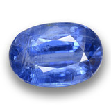 thumb image of 6.8ct Oval Facet Blue Kyanite (ID: 462100)