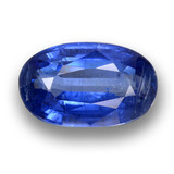 thumb image of 2.6ct Oval Facet Blue Kyanite (ID: 462102)