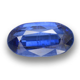 thumb image of 3.9ct Oval Facet Blue Kyanite (ID: 462105)