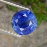 thumb image of 0.9ct Round Facet Blue Kyanite (ID: 474347)