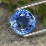 thumb image of 0.9ct Round Facet Blue Kyanite (ID: 474349)