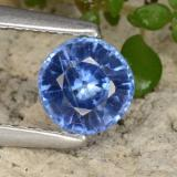 thumb image of 0.7ct Round Facet Blue Kyanite (ID: 474896)