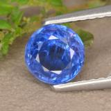 thumb image of 0.9ct Round Facet Blue Kyanite (ID: 475248)