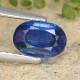 thumb image of 1.1ct Oval Facet Blue Kyanite (ID: 481381)