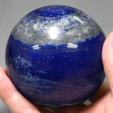 3000.00 ct Spherical Royal Blue Lapis Lazuli Gem 70.98 mm  (Photo C)