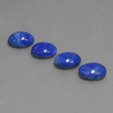 thumb image of 4.1ct Oval Cabochon Blue Lapis Lazuli (ID: 430660)