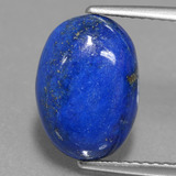 thumb image of 3.5ct Oval Cabochon Blue Lapis Lazuli (ID: 441661)