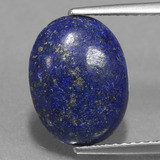 thumb image of 3.5ct Oval Cabochon Blue Lapis Lazuli (ID: 441668)