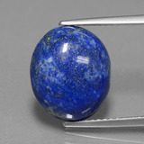 thumb image of 5.6ct Oval Cabochon Blue Lapis Lazuli (ID: 441747)