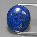 thumb image of 5.8ct Oval Cabochon Blue Lapis Lazuli (ID: 441748)