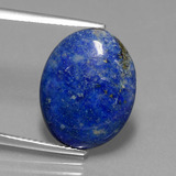 thumb image of 8.1ct Oval Cabochon Blue Lapis Lazuli (ID: 441786)