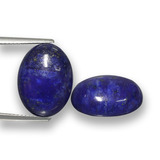thumb image of 18.2ct Oval Cabochon Blue Lapis Lazuli (ID: 458024)