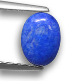 thumb image of 1ct Oval Cabochon Blue Lapis Lazuli (ID: 459317)