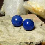 thumb image of 25.9ct Drilled Sphere Blue Lapis Lazuli (ID: 466942)