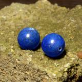 thumb image of 26.2ct Drilled Sphere Blue Lapis Lazuli (ID: 466943)