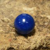 thumb image of 13.3ct Drilled Sphere Blue Lapis Lazuli (ID: 466959)