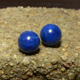 thumb image of 25.7ct Drilled Sphere Blue Lapis Lazuli (ID: 466962)
