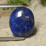 thumb image of 2.5ct Oval Cabochon Blue Lapis Lazuli (ID: 476688)