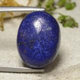 thumb image of 14.6ct Oval Cabochon Blue Lapis Lazuli (ID: 485096)