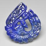 thumb image of 41.9ct Carved Fancy Blue Lapis Lazuli (ID: 501446)