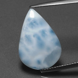 thumb image of 7.6ct Pear Cabochon Green Blue Larimar (ID: 391387)