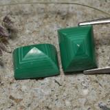 thumb image of 7.8ct Baguette Cabochon Multicolor Green Malachite (ID: 323242)