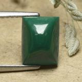 thumb image of 3.3ct Baguette Sugarloaf Cabochon Multicolor Green Malachite (ID: 493334)
