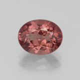 thumb image of 2.9ct Oval Facet Pinkish Rose Malaya Garnet (ID: 332202)