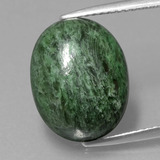 thumb image of 9.5ct Oval Cabochon Green Maw-Sit-Sit (ID: 406683)
