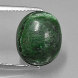 thumb image of 8.7ct Oval Cabochon Green Maw-Sit-Sit (ID: 407662)