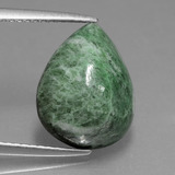 thumb image of 6.6ct Pear Cabochon Green Maw-Sit-Sit (ID: 407872)