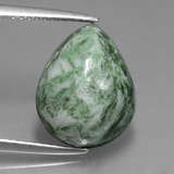 thumb image of 7.5ct Pear Cabochon Green Maw-Sit-Sit (ID: 407873)