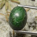 thumb image of 6.3ct Oval Cabochon Pine Green Maw-Sit-Sit (ID: 474079)