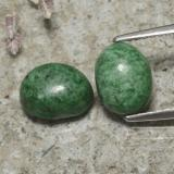 thumb image of 3.6ct Oval Cabochon Green Maw-Sit-Sit (ID: 477584)