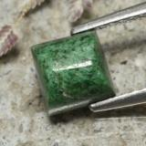 thumb image of 1.7ct Square Cabochon Green Maw-Sit-Sit (ID: 477590)