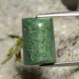 thumb image of 6.8ct Baguette Sugarloaf Cabochon Green Maw-Sit-Sit (ID: 477657)