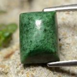 thumb image of 3.7ct Baguette Sugarloaf Cabochon Green Maw-Sit-Sit (ID: 477713)