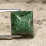 thumb image of 6.9ct Square Sugarloaf Cabochon Green Maw-Sit-Sit (ID: 477814)