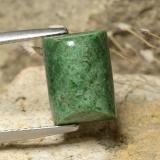 thumb image of 6.8ct Baguette Sugarloaf Cabochon Green Maw-Sit-Sit (ID: 477932)