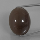 thumb image of 41.2ct Oval Cabochon Smoke Moonstone (ID: 401035)