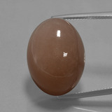 thumb image of 32.8ct Oval Cabochon Mocha Moonstone (ID: 401450)