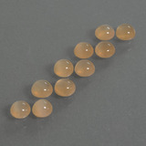 thumb image of 2.6ct Round Cabochon Peach Orange Moonstone (ID: 410104)